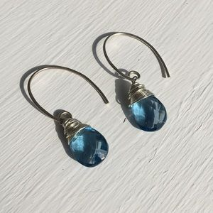 Jewelry - Handmade Sterling Silver and Gem Earrings